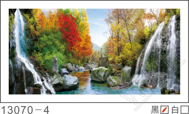 3d微框画 黄金满地 酒店 风景 油画 景物 家庭 办公室