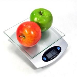 YPH square glass/electronic kitchen scale with the peel and electronic scales (807