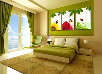 装饰画客厅现代简约无框画壁画立体画沙发背景墙三联画挂画