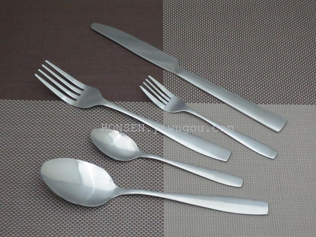 不锈钢厨具厨房用品西餐具刀叉勺(akb07)