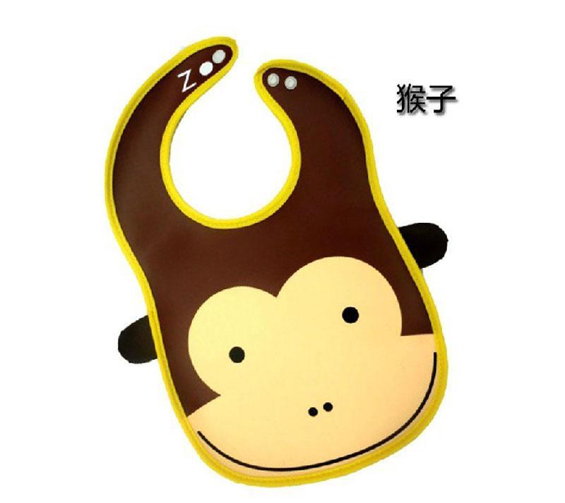 儿童卡通动物饭兜 宝宝围嘴 围兜 防水吃饭兜 婴儿用品