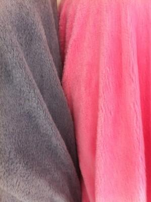 Knitted fabric polar fleece