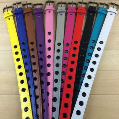 3cm color PU belt