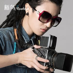 Best selling new bird boxes sunglasses gradient sunglasses girl 2014 new wave UV ladies sunglasses 1302