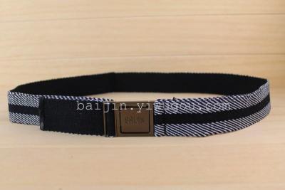 BAIJIN canvas belts leisure belts for men and women fashion Joker Korean belts DM080324