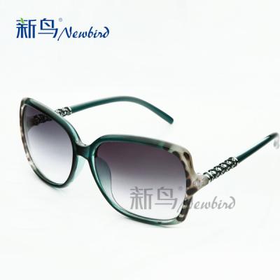 Gradient sunglasses Lady 2014 new stylish retro splitter female tide currents cool sunglasses glasses large box 1605