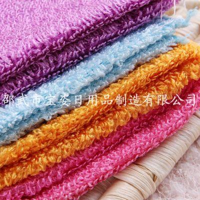 Korea dishwashing butao Bao distribution of a generation-oil dish towel magic rag street vendors wander the wood fiber cleaning wipes M3027 colour