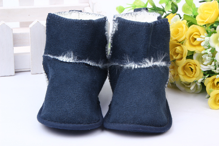 3816c1914 Supply Foreign trade wholesale 0-1 years old baby winter boots warm ...