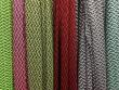 Scale grid fashion knits