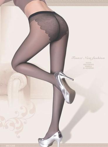 浪莎时尚比基尼包芯丝绢感觉连裤袜 浪莎比基尼丝袜CH6652