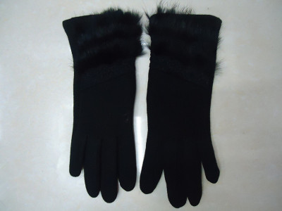 No down touch screen gloves, cloth art gloves,