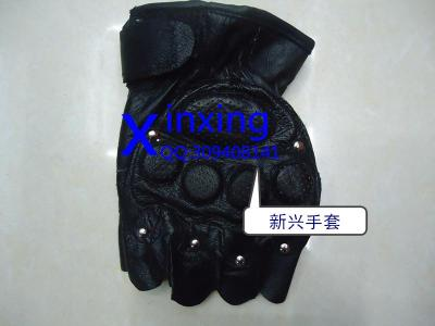 Men's leather mittens, gloves and gloves.