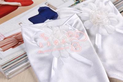 Bride wedding gloves