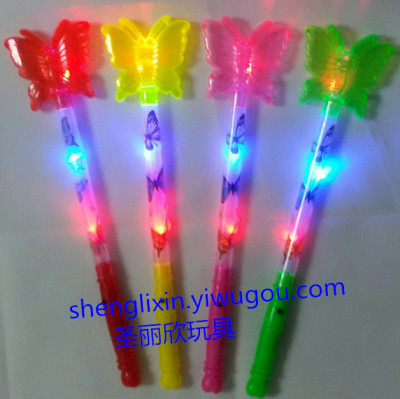 Factory direct flash stick lightsticks cartoon Xingyue flash stick concert party Festival props