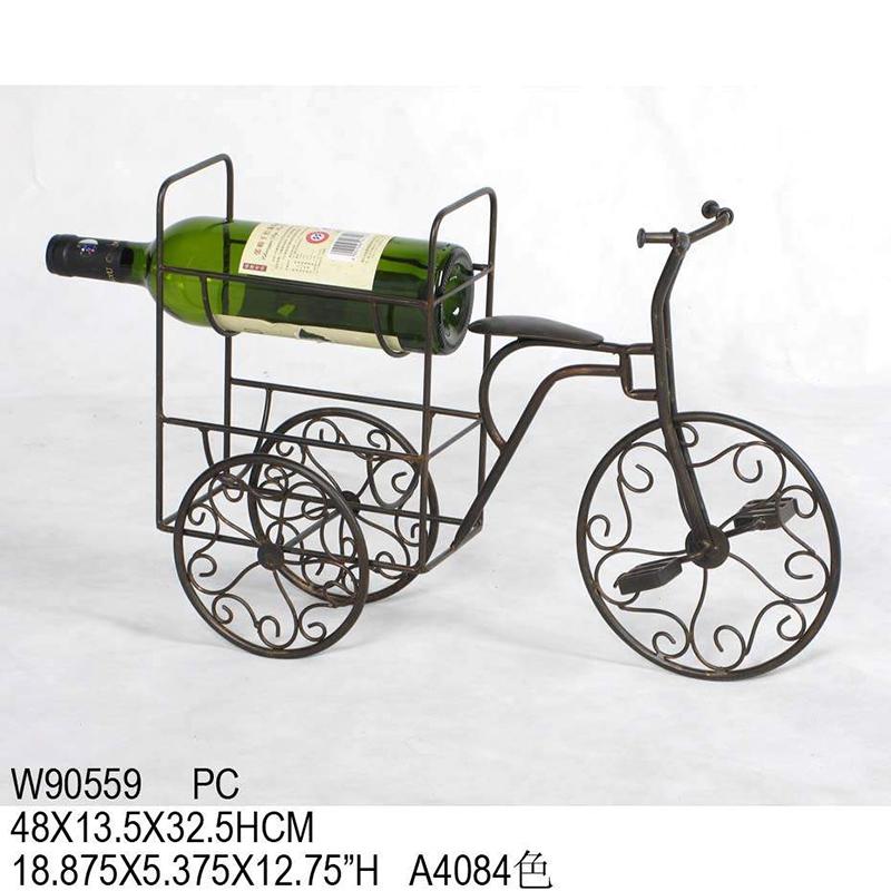 铁艺创意自行车酒架 w90559_ 义乌市金钥匙网络科技