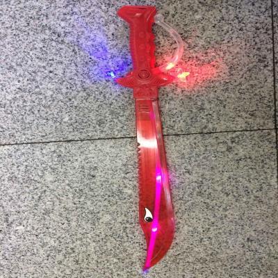 Children's luminescence toy laser sword, sword, flashing sword, flashing sword, flashing sword