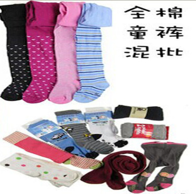 Small child pantyhose foreign trade single-stock