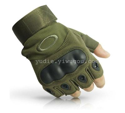 Wholesale Unsex cycling gloves Tactical Gloves Army Half Finger Airsoft Combat Tactical Gloves