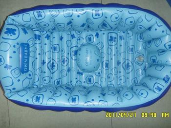 ギフト用の箱のパッチの品質保証を完備したパックを個別に充填したou peiベビーインフレータブル浴槽