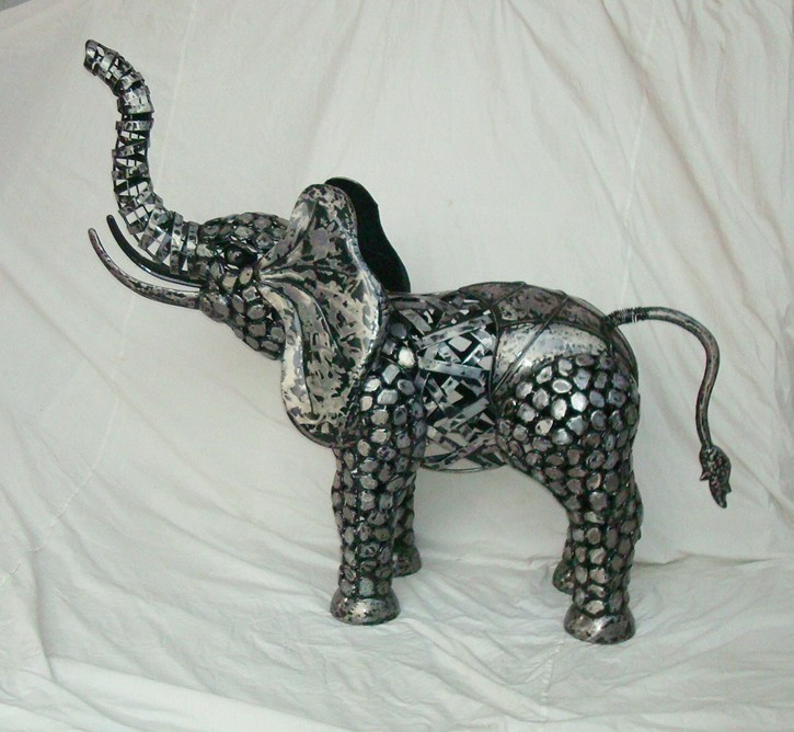 铁艺大象 时尚摆件 厂家直销