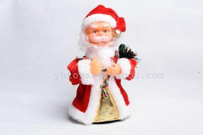 Christmas gift toy electric Santa Claus