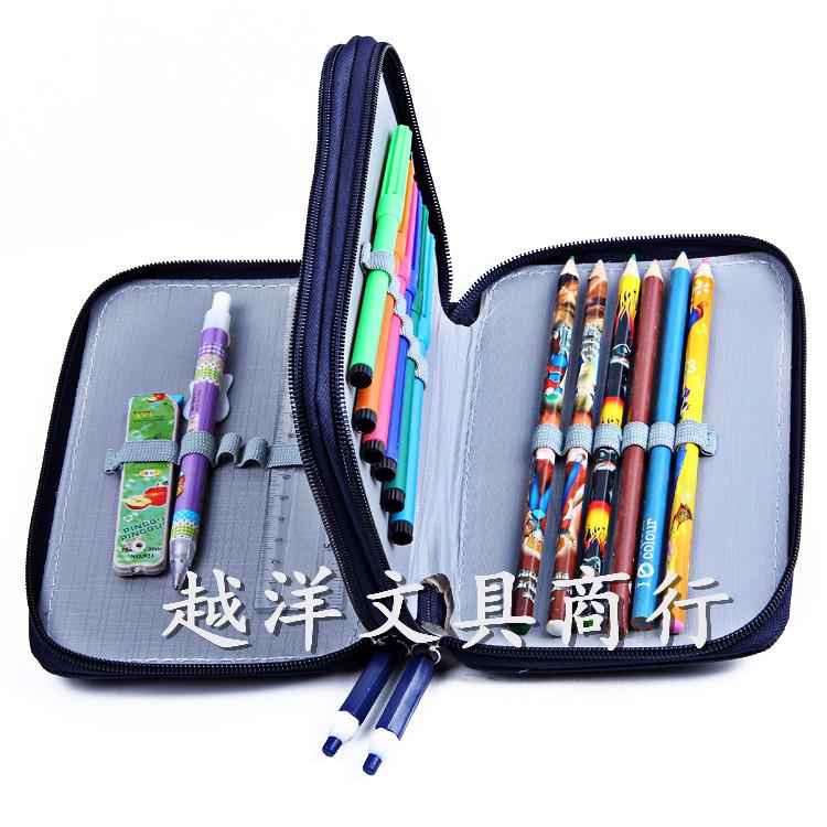 文具直销厂家超大笔袋文具盒小学生年级袋小学6读后感儿童图片