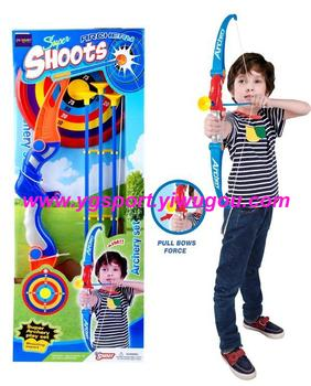 Children sports toy bow bow and arrow sets direction of safety and environmental protection YGC1-8901A