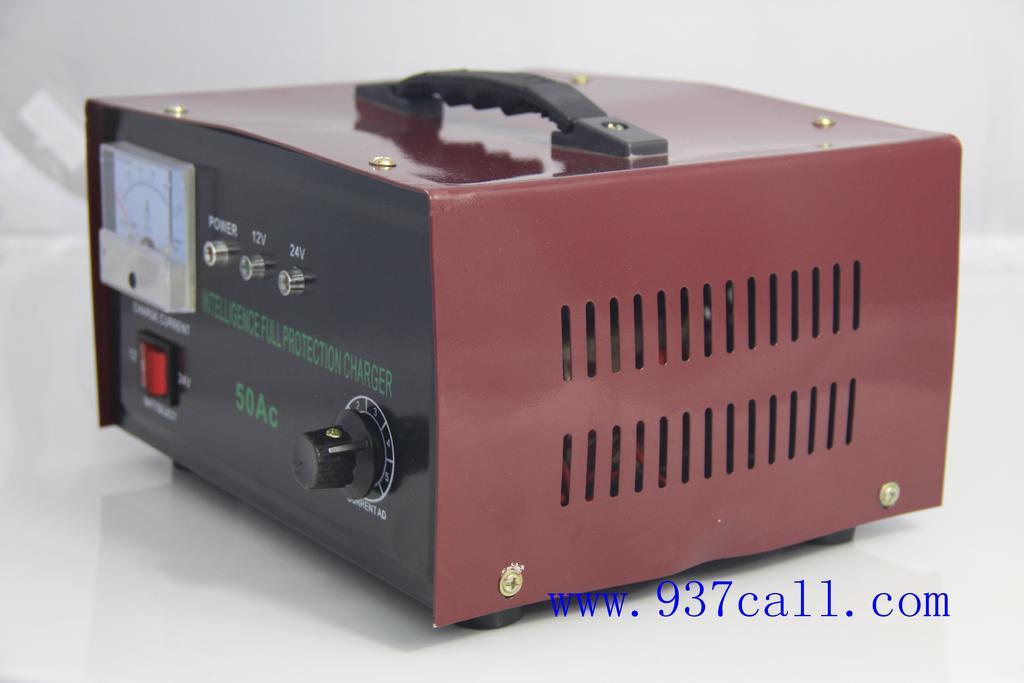 充电器 12v/24v充电器 50a蓄电池充电器 汽车用品