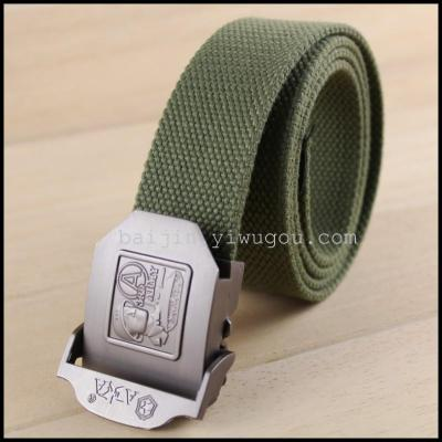 3.8 cm Extremely thick cotton fashion belt DM080416