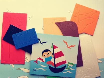 春禧b12帆船创意儿童手工制作礼品vea拼图 diy幼儿