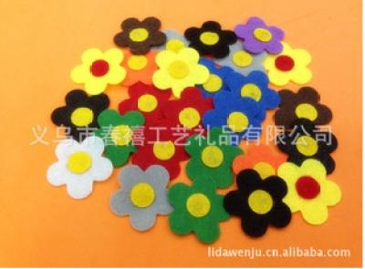 Stock felt flower accessories crafts accessories sample-made