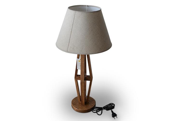 创意欧式时尚家居 简约木制台灯