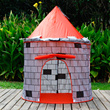 Amazon blossoms red walls yurts children tents boys girls game house