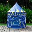 Blue sun and moon children yurts tents oversized children princess tents toys game house baby baby
