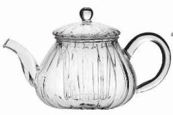 耐热手工玻璃茶壶全玻璃花茶壶礼品