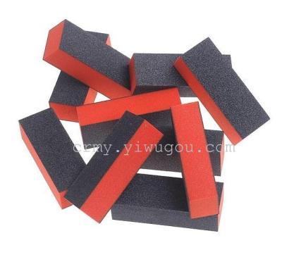 Eyebrow tweezer, nail polishing block tofu block-shaped, Nail Polish rub exclusive