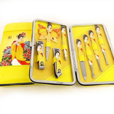 Factory wholesale Tang four great beauties manicure set nail clippers set 8 piece set nail art tools