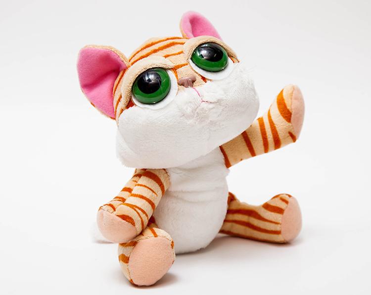 可爱各种动物毛绒玩具大尾巴猫公仔抱枕布毛娃娃生日礼物女生