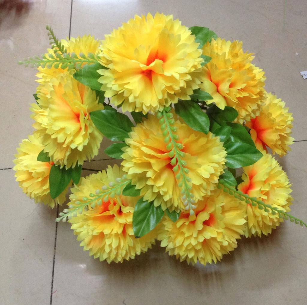 Supply Qing Ming Flower Artificial Flower Factory Outlet 13 Tip