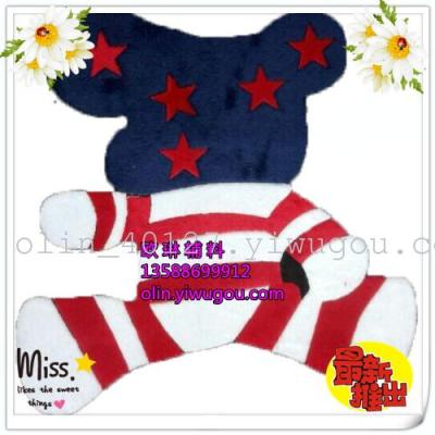 Cats get cost-effective heat press factory Yiwu purchase Taobao days explosions 2014 plans the most popular flag-bear