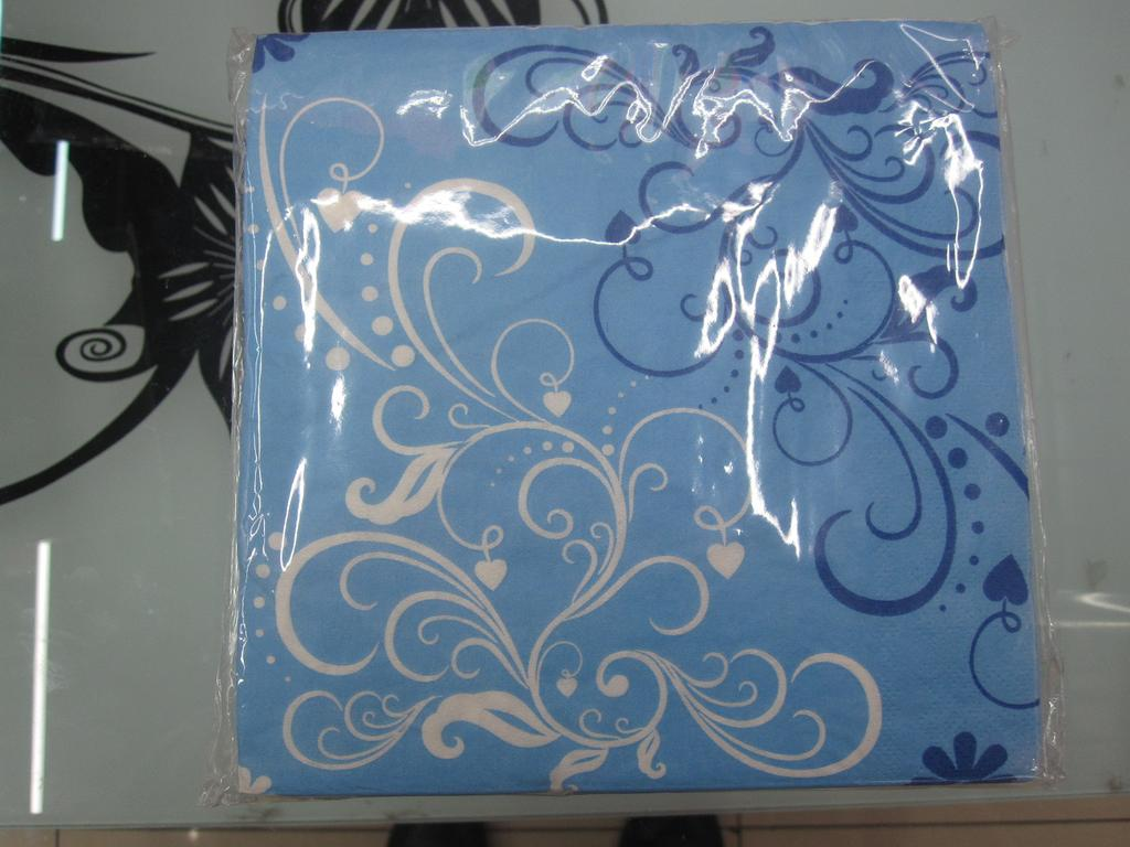 Supply Napkin Flower Paper Fashionable Paper Towel Flower Printing