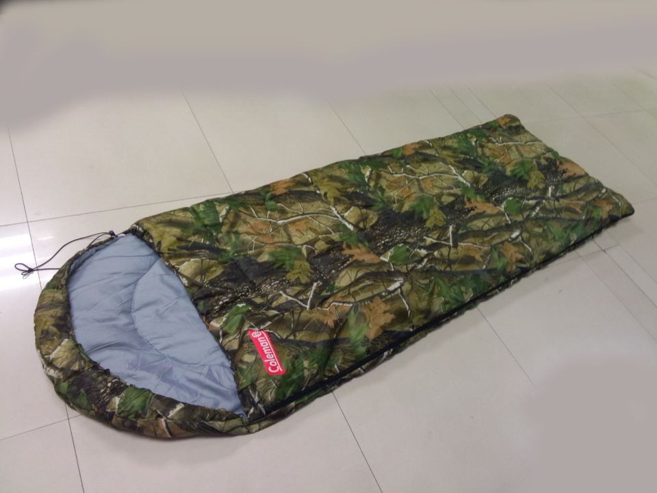 Leaf Envelope Sleeping Bag Camo Forest Cotton Bags