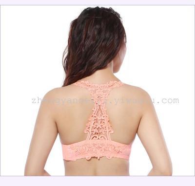 Network blast back-piece lace beauty girls Bras seamless Bras lingerie (spot) 5112