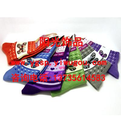 New women's socks, thick socks with elastic flower-shaped multi-women socks knitted flowers socks