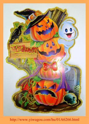 2014 3D Halloween  stickers