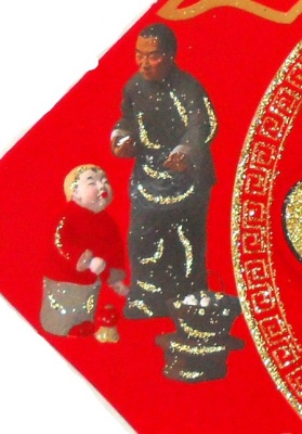 2015  style Chinese dream series Fu clay figurines Fa482