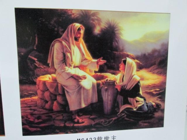 40*50数字油画 世界名画救世主图案