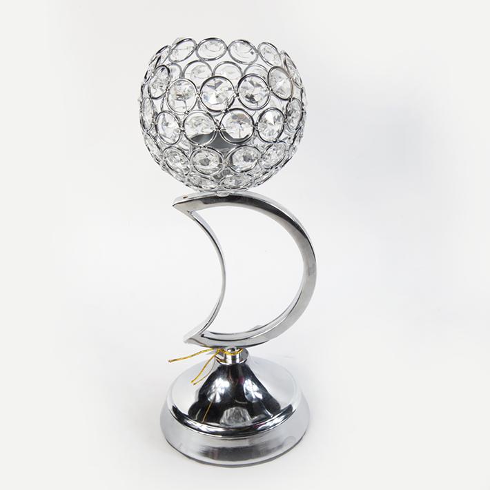 欧式奢华复古工艺品 创意摆件 新古典水晶感玻璃烛台