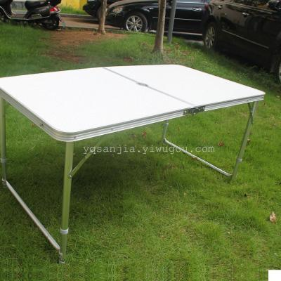 Certified SANJIA outdoor camping products aluminum alloy foldaing tables