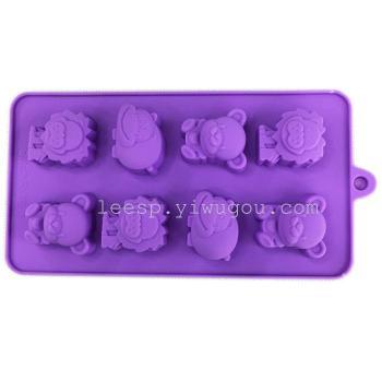 立体巧克力模硅胶蛋糕模烘焙蛋糕西点点心模具烤箱用